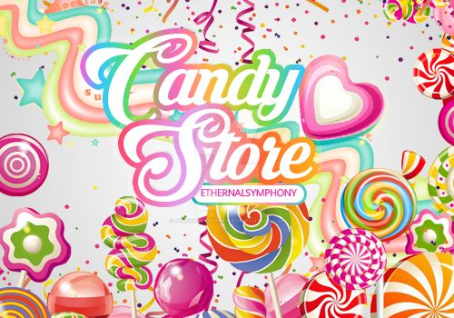 Candy Store Resources by EthernalSymphony