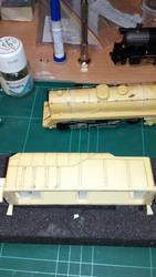 rivetted tender LH side