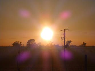 winter morning in Aus