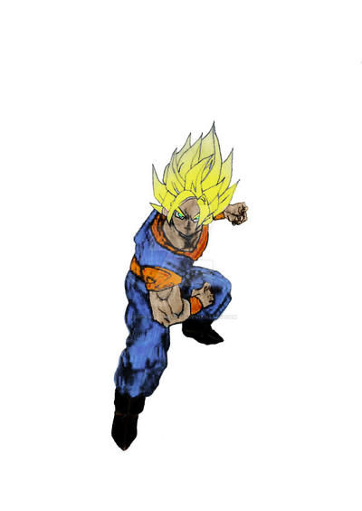 Goku (Dragon Ball FighterZ) |Goku Blue Suit