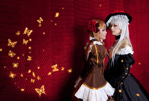 Umineko_Witches'whispering by smallw