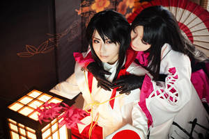 Nagamasa and Oichi_3_Sengoku Basara2 by smallw