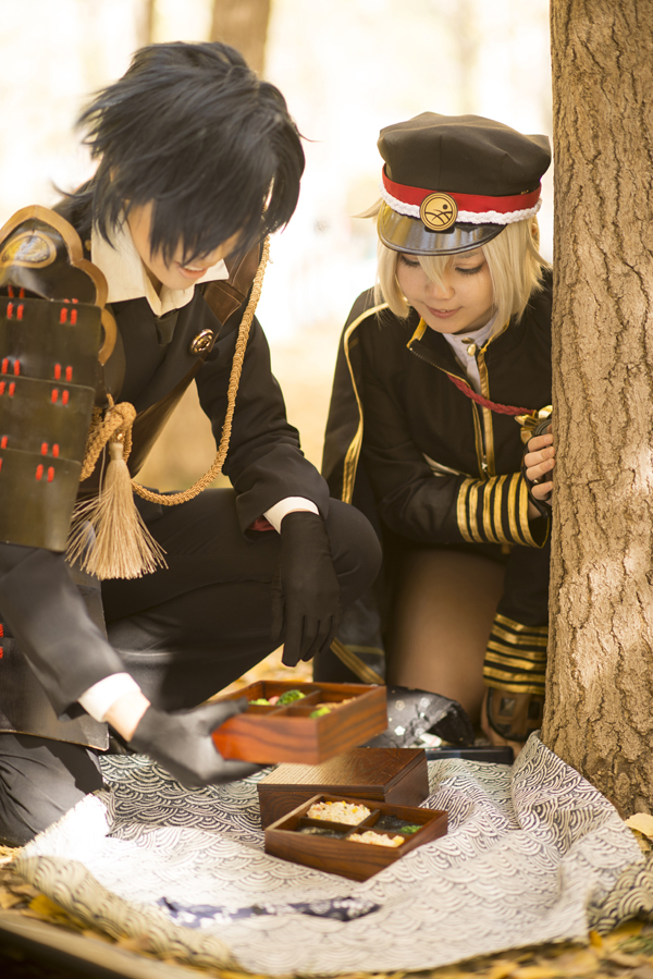 Picnic_toukenranbu by smallw