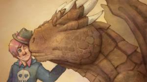 Skully X Draco: Dragon's Heart (by salty_tart)