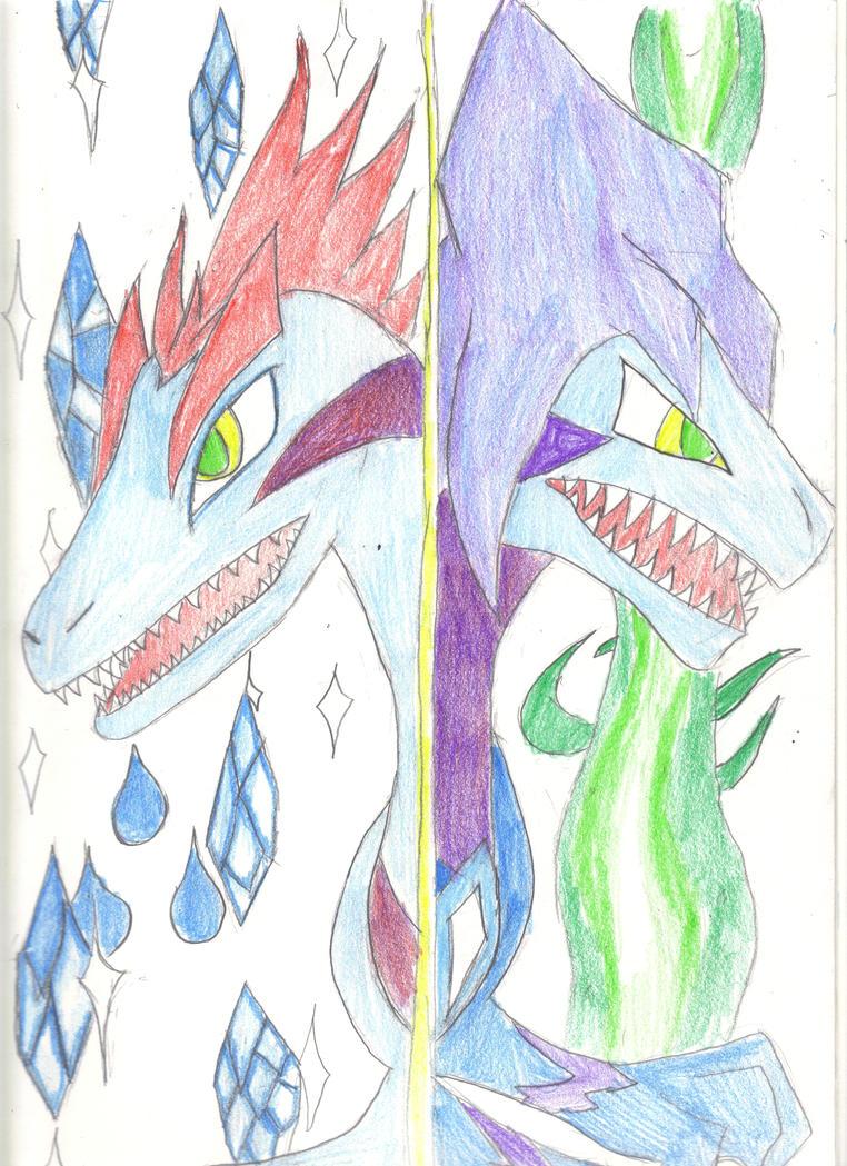 Duna and Raptin by MewMew55
