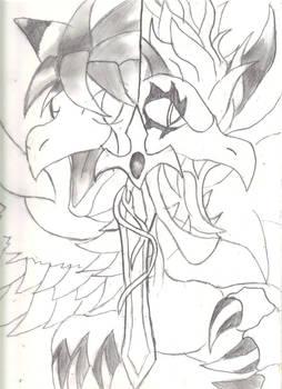 Flammie and Mana Beast