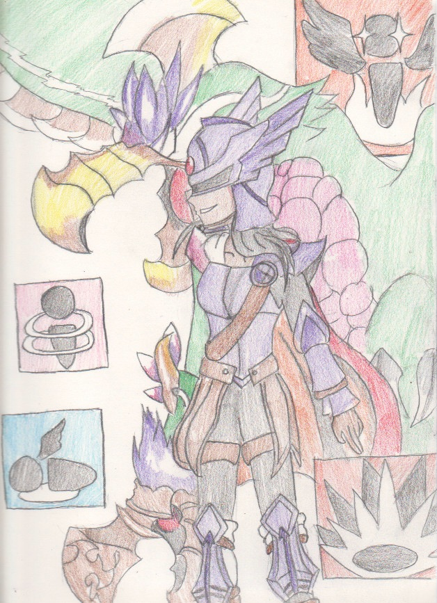 Kid Icarus Uprising Fighter and Phoenix