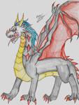 Dark Chrom Dragon Form