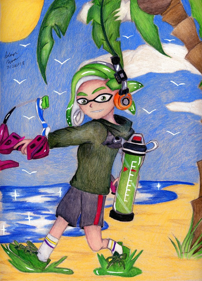 Art Request: Splatoon 2