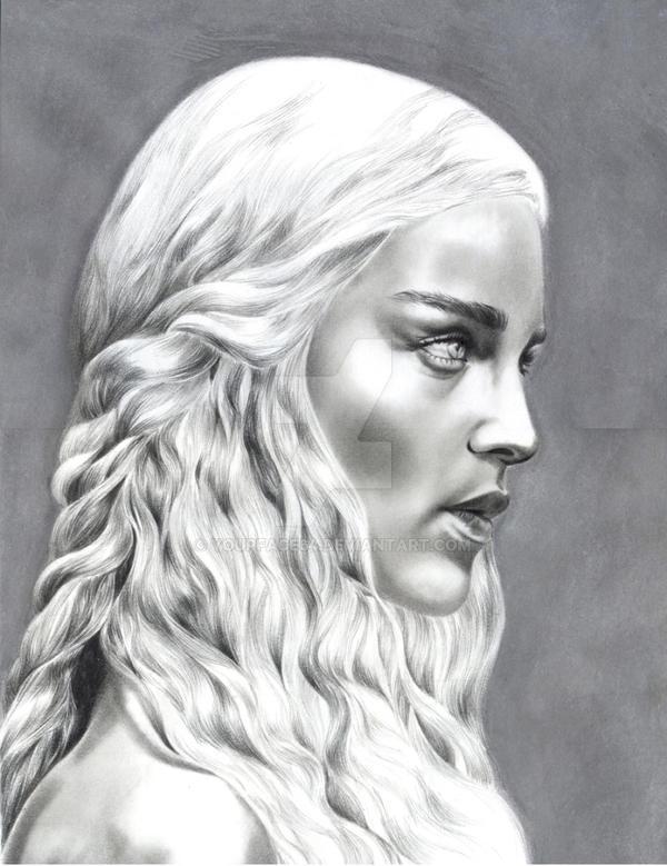 Daenerys Targaryen by yourface64