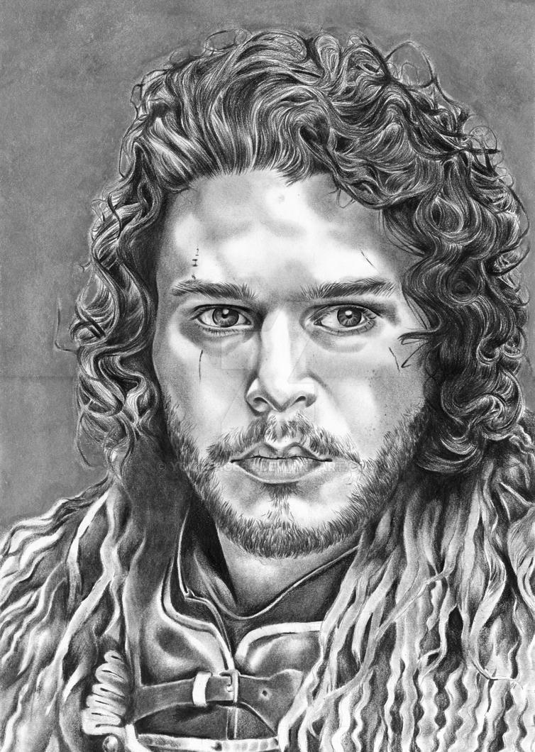 Jon Snow by yourface64