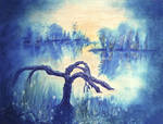 Painting a daydream (Tree landscape)