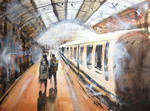 Catching the train in colour with youtube link by StuartShields