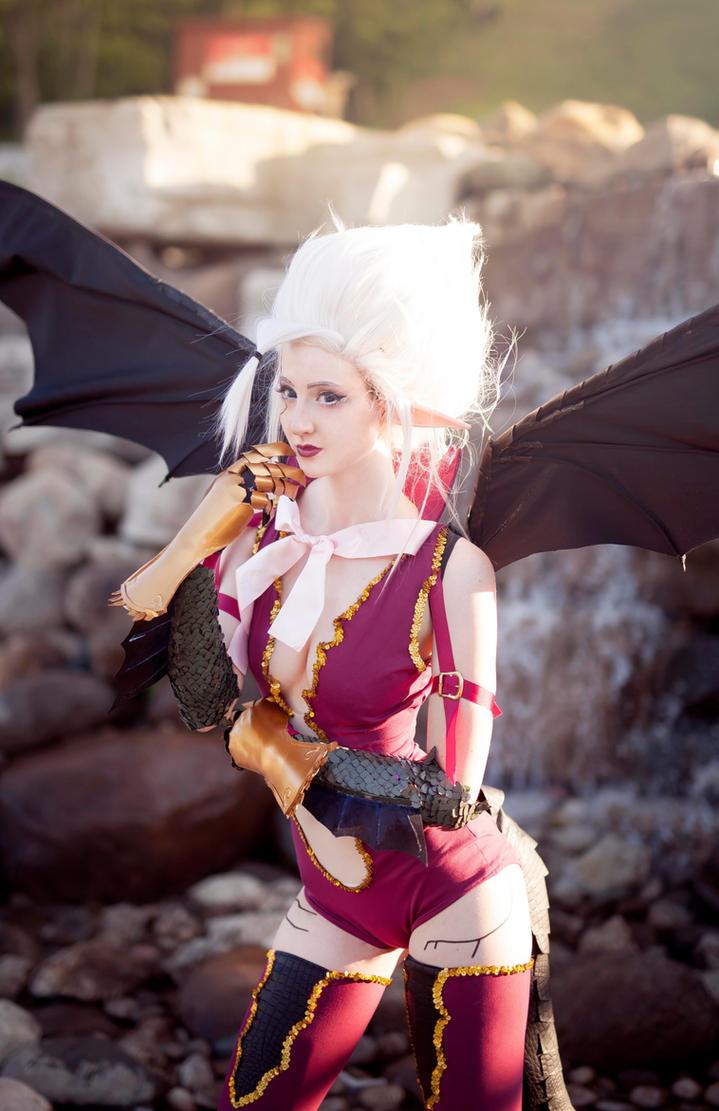 Mirajane Cosplay - Fairy Tail by Nakatsukuni on DeviantArt