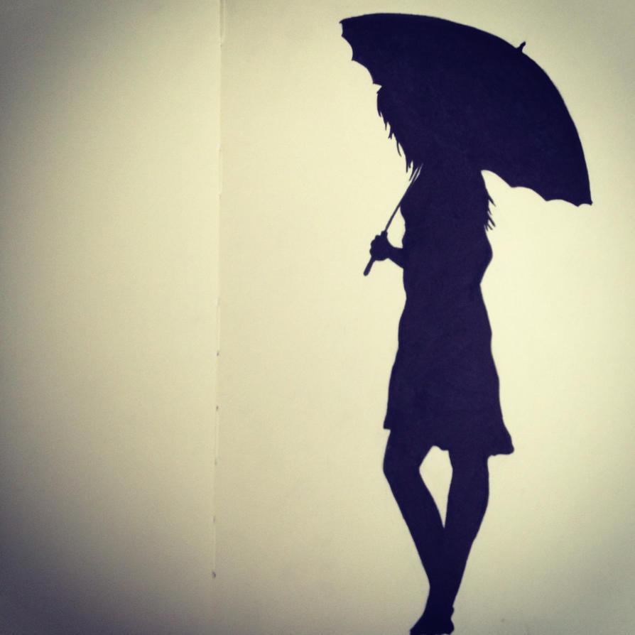 Girl Silhouette Photog...