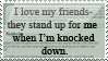 I love my friends stamp by Sora-X-Riku