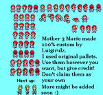 Mother 3 Style Mario