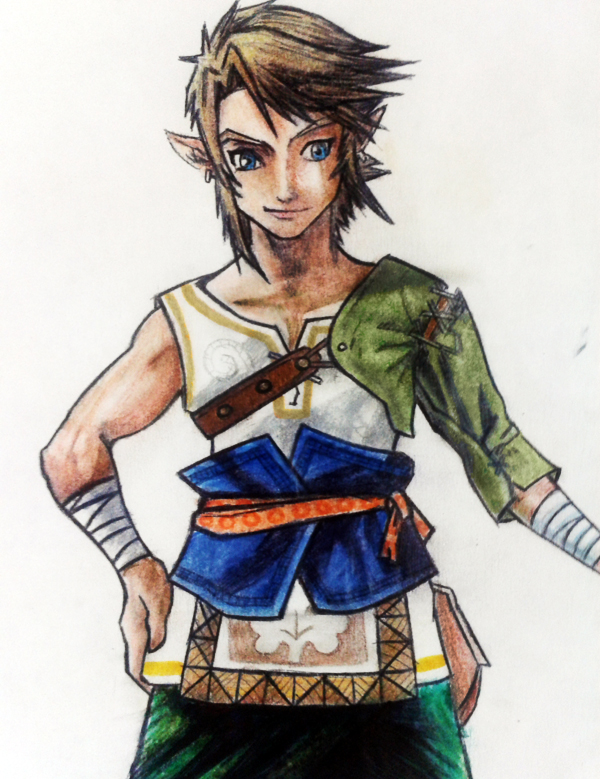 Link - Zelda Twilight Princess by DisegniJohn