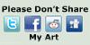Please Don't Share My Art by Doublecrash