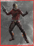 MARVELNOW StarLord Orig. Color Scheme