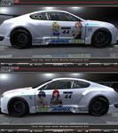 FT Team Natsu Bentley Continental GT3 Itasha_01 by FAT8893
