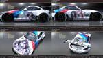 Date A Live BMW Z4 E89 GT3 Itasha by FAT8893
