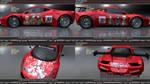 Attack On Titan Ferrari 458 GT3 Itasha by FAT8893