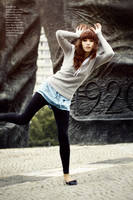 kick girl Editorial by LittleFlair