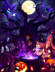Pokemon Halloween 2016