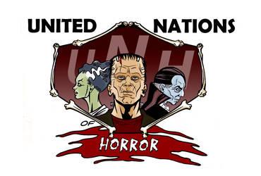UNITED NATIONS OF HORROR logo