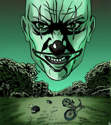 Nightvision clown