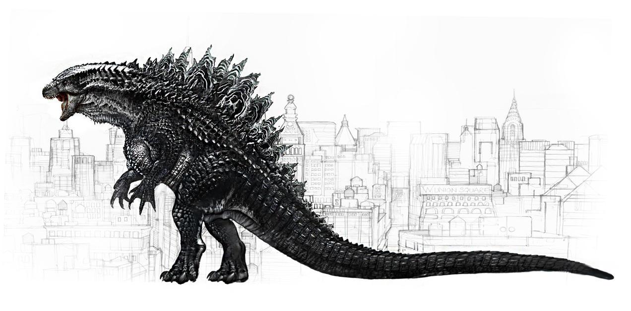 Godzilla V.2 by sporezofchaos