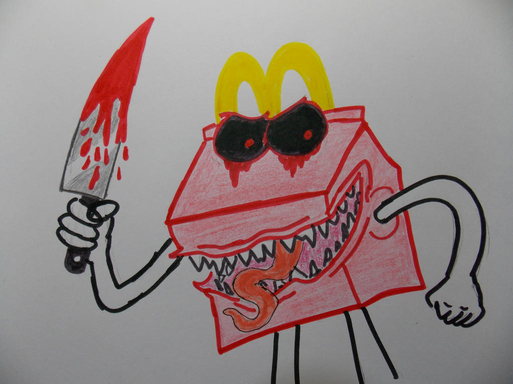 HAPPYMEAL.EXE by rachetcartoons