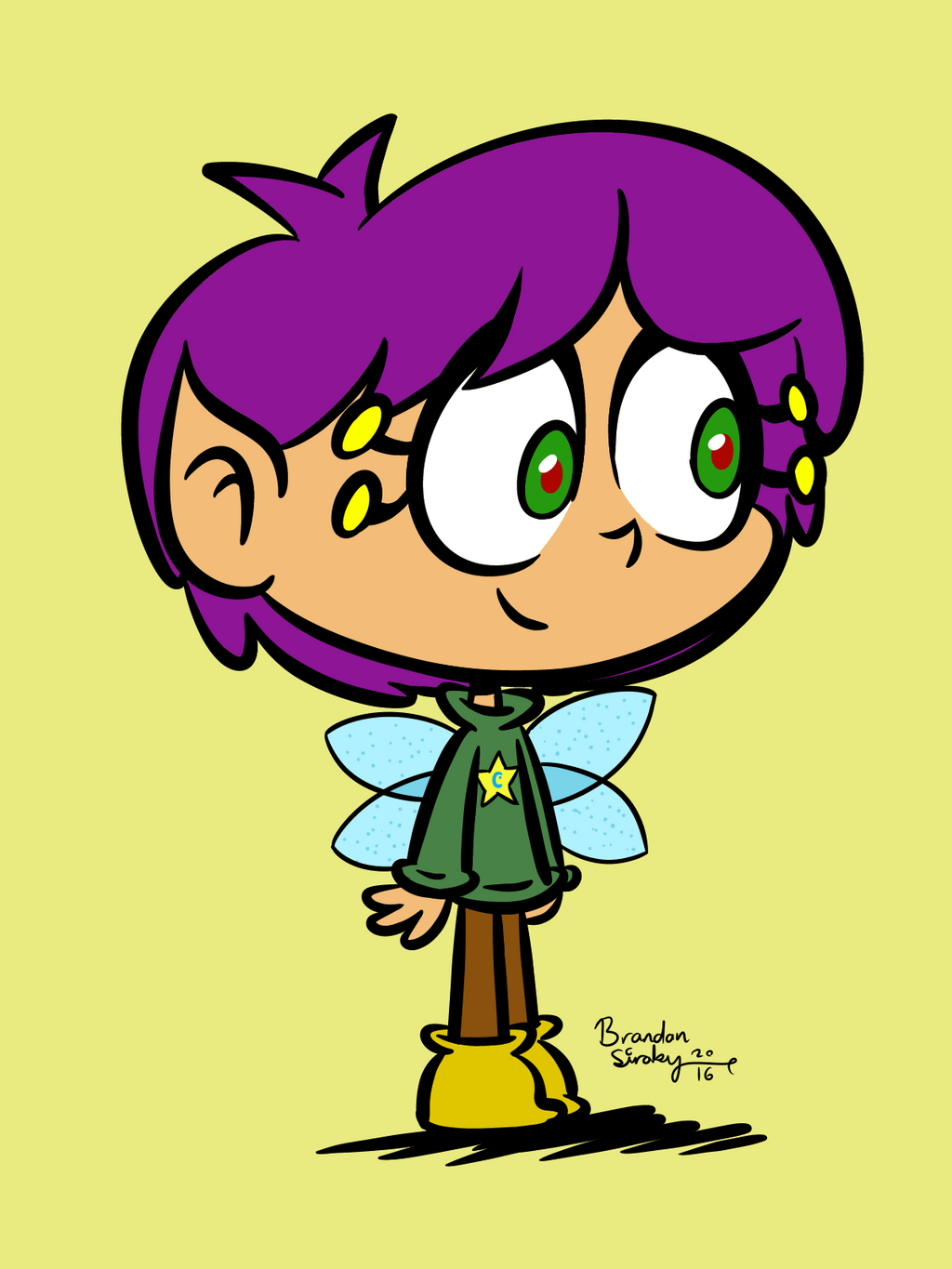 Breanna Redesigned For TheThird Time by rachetcartoons