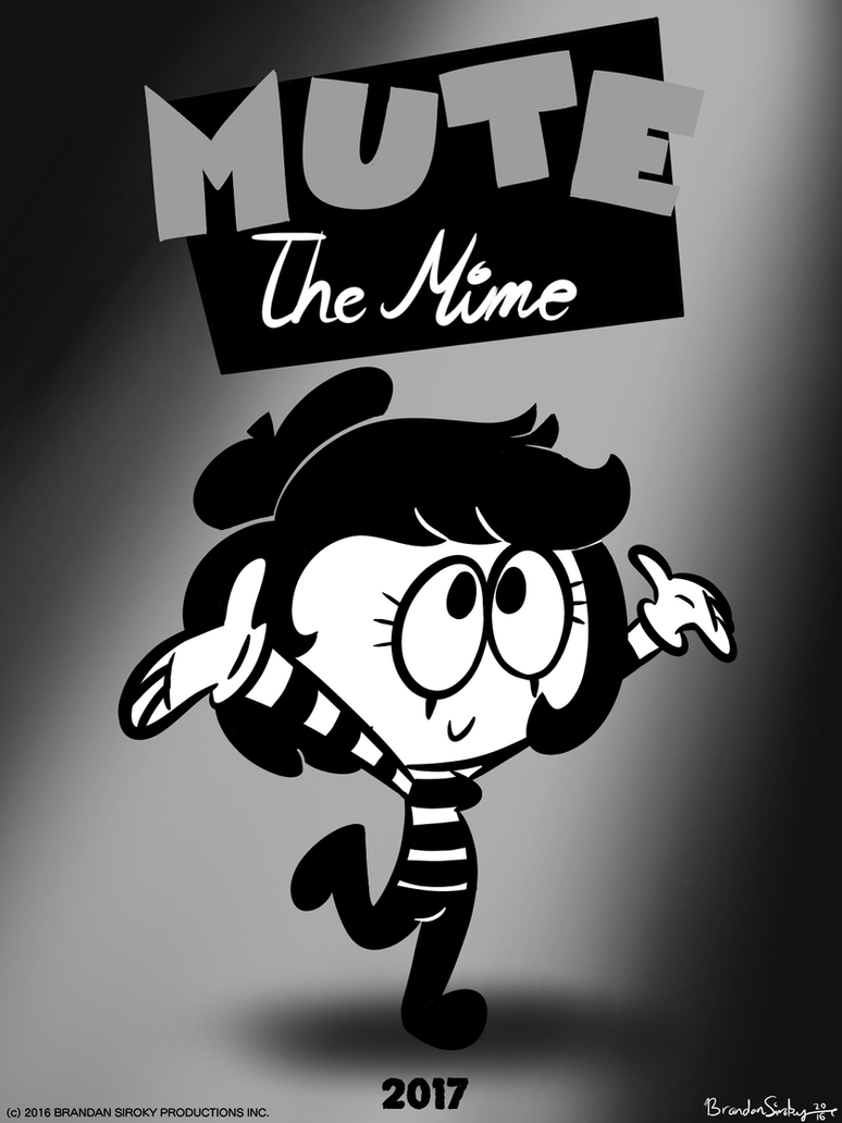 Future Concept: Mute The Mime by rachetcartoons