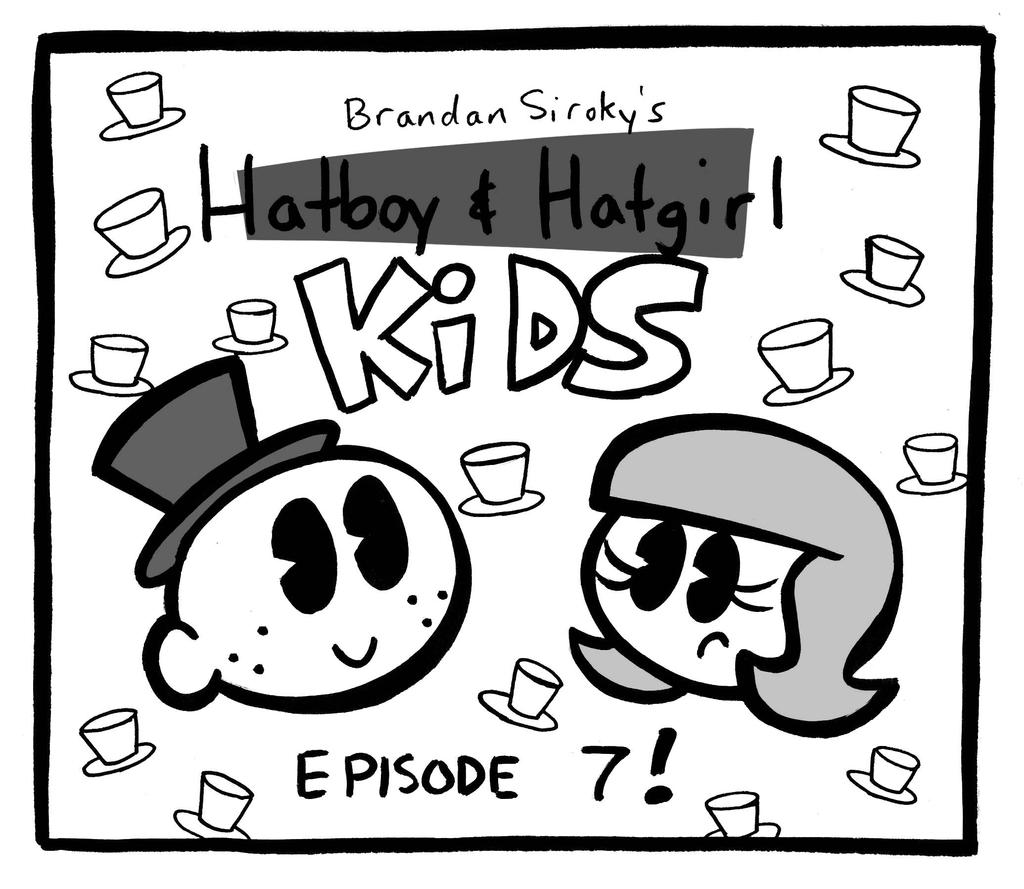 Hatboy and Hatgirl Kids Ep 7 Titlecard by rachetcartoons