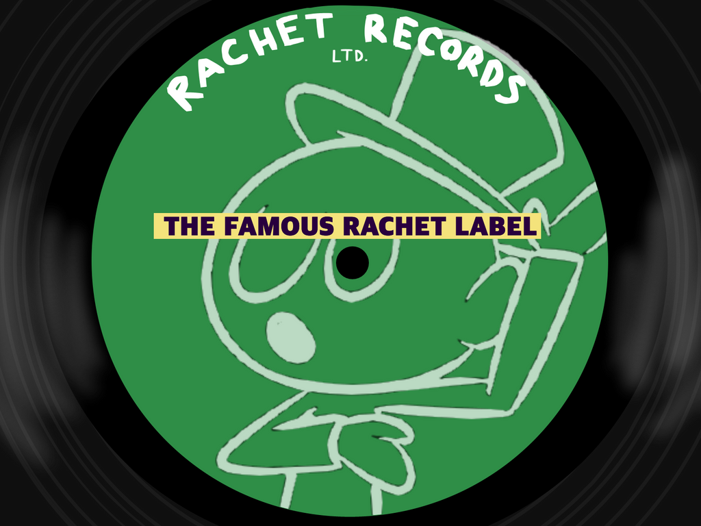 Rachet Records Label Version 2 by rachetcartoons