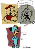 ToonJune Day 6: The 50s by rachetcartoons
