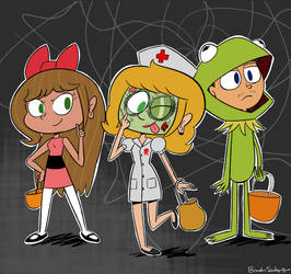 Brook And Friends Halloween Costumes