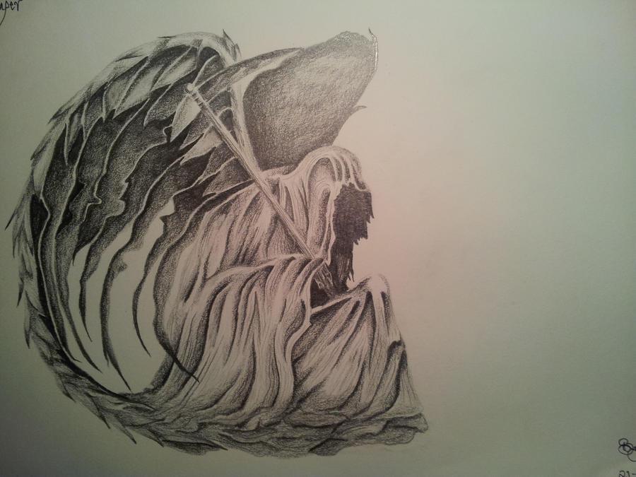 Dark Grim Reaper Drawing Pencil By Cassandrawilson On Deviantart