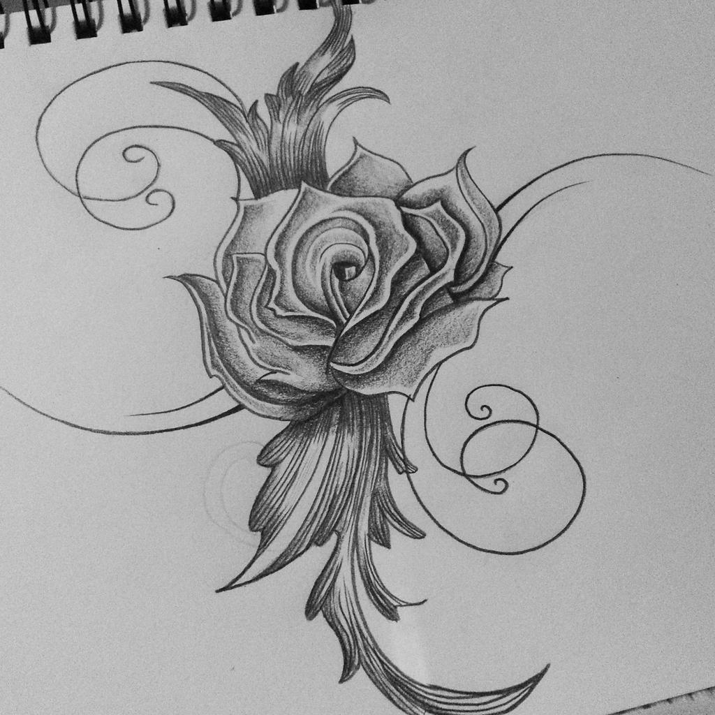 91c22922d hoontoidly: Rose Drawing Tattoo Images