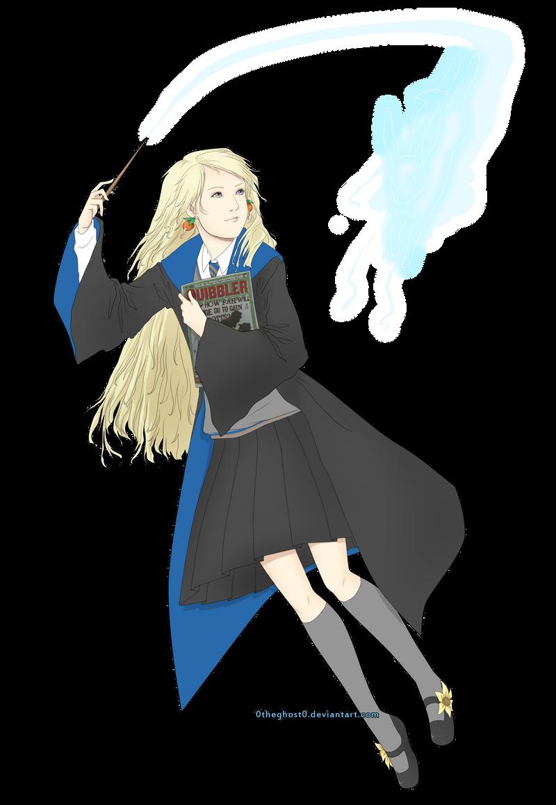 Luna lovegood fan art viria