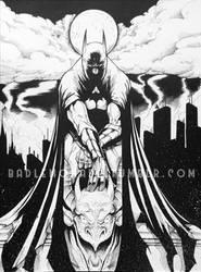 Gotham gargoyles