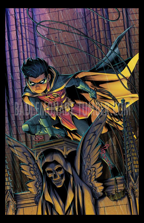 Robin by 0theghost0