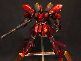 HGUC Sazabi by GameraBaenre