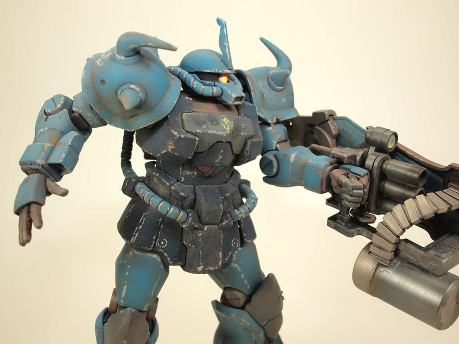 HGUC Gouf Custom by GameraBaenre