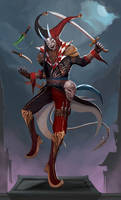 Shaco Quinzel the Jester Assassin