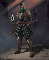 Nyx the hexblade warlock