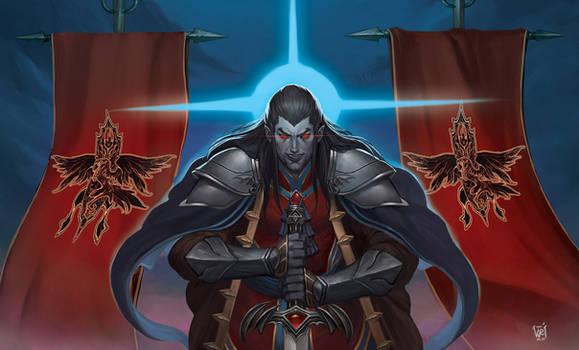 Strahd von Zarovich the dark lord