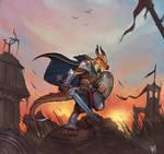 Vollenth the Kobold Battle Master